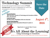 2nd Annual Technology Summit Date is Set