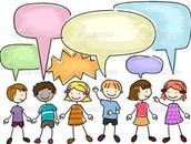 Talking!!