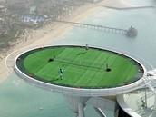 Burji Al Arab's Tennis court