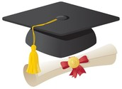 Cap and Gown Parade on Monday!