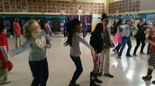 PBIS Dance Party (Double gold card recipients)