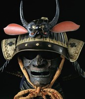 The Mask of a Traditional Samurai...