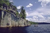 Hide in the Canadian Shield.