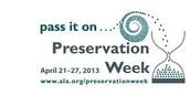 Celebrate Preservation Week at Love Library