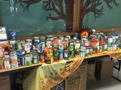 Feinstein Food Drive...please keep the cans coming!!