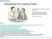 7. Assessment for Learning made easy