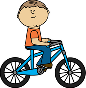 Je fais de la bicyclette.