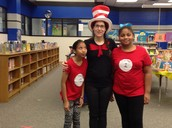 Celebrating Dr. Seuss' Bday in the Library