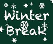 Winter Break 12/20/14 - 1/5/15