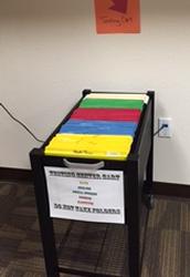 Testing Center File Cart