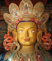 Statue of Maitreyi Buddha (future buddha)