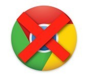 Do NOT use Google chrome!