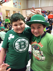 """Be Keen in Green""- Join us for an All School Spirit day on March 17th"