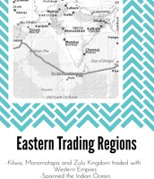 Eastern Trading Regions on the Swahili Coast