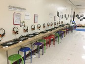 Our Google Space and Chrome Books