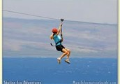 Zipline threw a memrable moment in maui hawii
