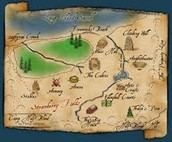 A map of Camp Half-Blood