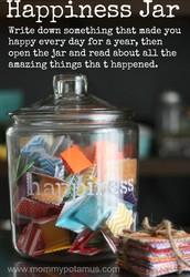 Happiness Jar Worth