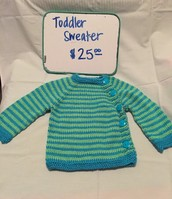 Toddler Sweater $25