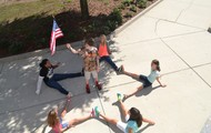 Stars and Stripes: Waving Proudly in the Wind