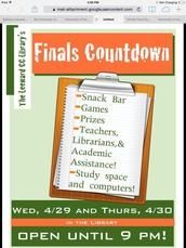 Finals Countdown