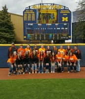 Softball Teams goes to Ann Arbor.