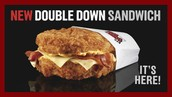 KFC: Double Down Sandwich