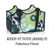 Keep It Tote in Fabulous Floral