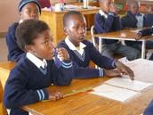 Estudiantes en South Africa