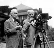George Eastman and William Hal Walker