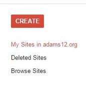 "Click ""Create""."