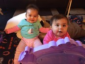 My twin nieces