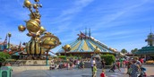 Disneyland amusement park in daytime