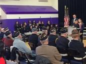 Veterans' Flag Ceremony (February)