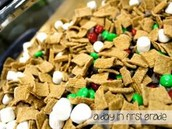 Snack Mix for the Polar Express