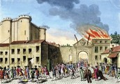 The Storming of the Bastille {July 14, 1789}