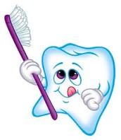 Brush teeth with a small ammount of water
