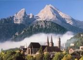 The Baverian Alps Mountains