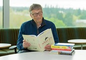 When you think of Bill Gates, do you think of books?