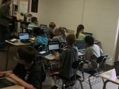 Students in ELA at LCIMS