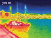 thermal image from case