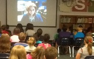 4th Graders Learn From Expert Via Skype!
