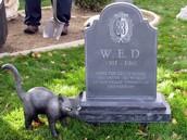 Disney's grave