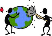 if you dont help earth might not exist in the so start helping