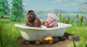 Clash of clans is fun!!!!!