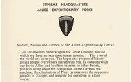 A letter to Allied Troops