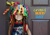 Student Council is hosting crazy hat day on Tues. Dec. 15