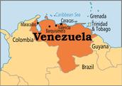 Un Mapa de Venezuela