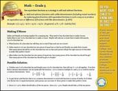 Mathematics Standard of the Week - Grade 5