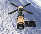 Skylab in space